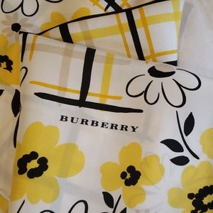 Burberry silk large scarf